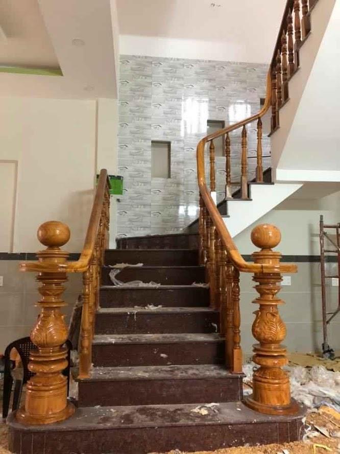 Cầu thang gỗ-CT02