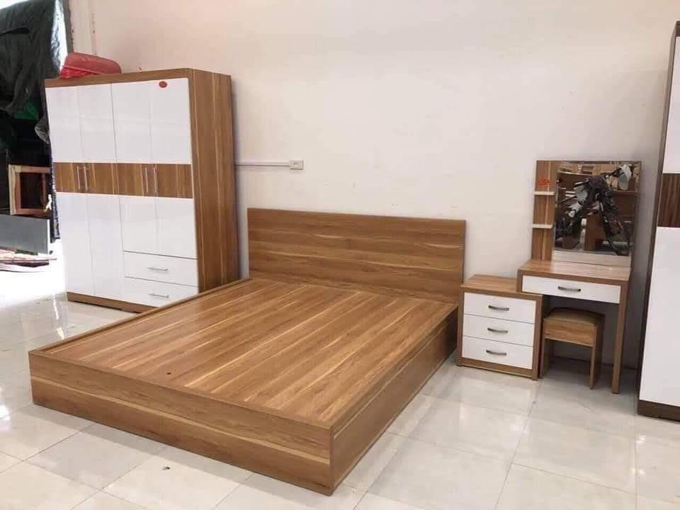 Giường gỗ-GTN14