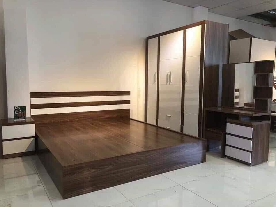Giường gỗ-GTN12