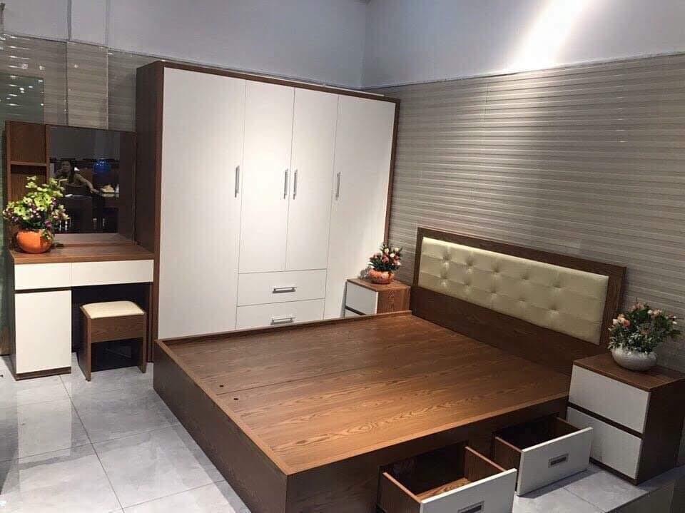 Giường gỗ-GTN13