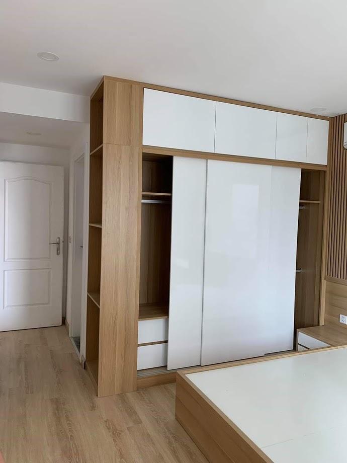 Tủ áo gỗ công nghiệp-TACN02