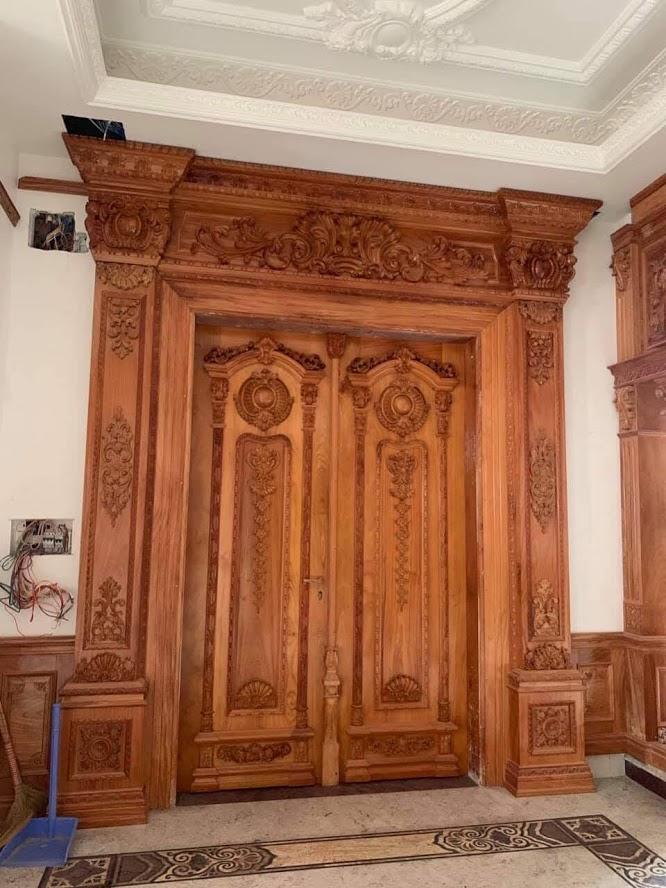 Sửa chữa cửa gỗ tại nhà biên hòa