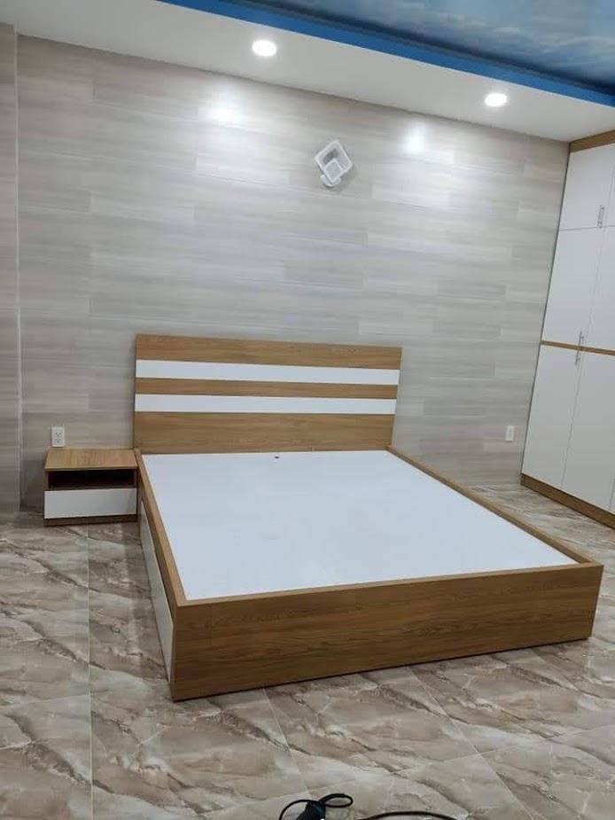 Giường gỗ-GTN15
