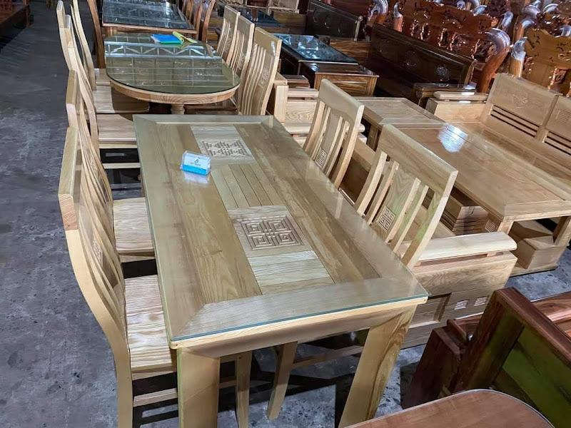 bàn ăn gỗ sồi biên hòa