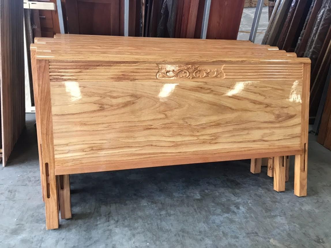 Giường gỗ-GTN07