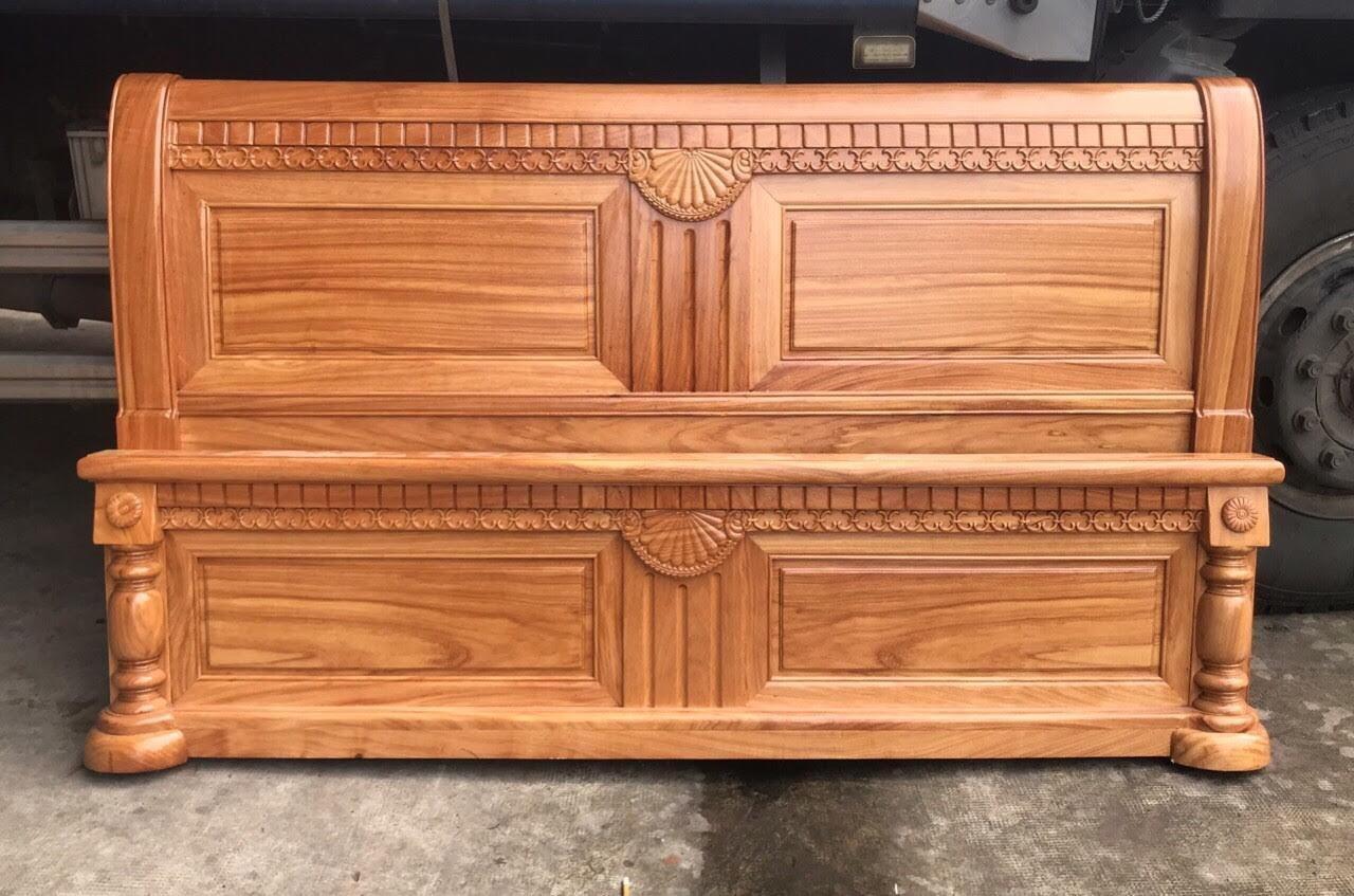 Giường gỗ-GTN02