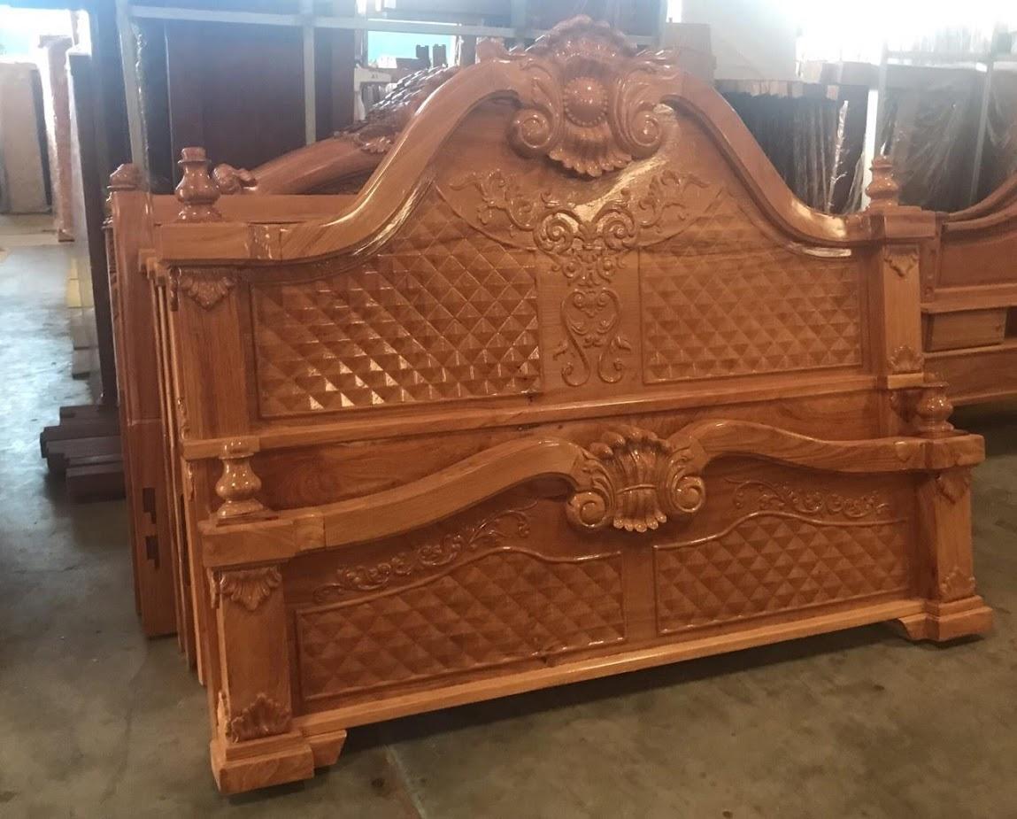 Giường gỗ-GTN04