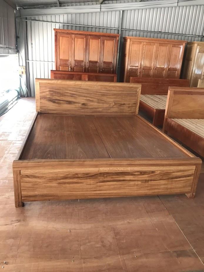 Giường gỗ-GTN03