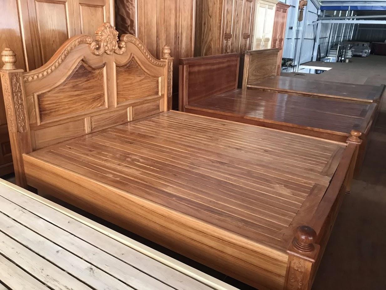 Giường gỗ-GTN05