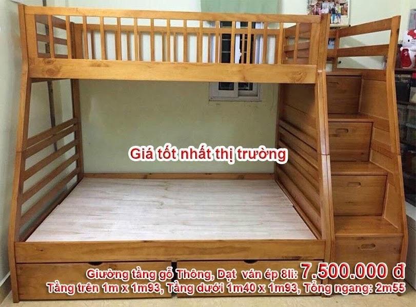 mẫu giường tầng bán chạy nhất