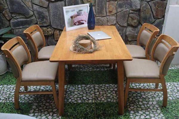 Xưởng chuyên sản xuất và cung cấp bàn ghế cho các nhà hàng quán ăn, quán trà sữa ở Biên Hòa, nhận đặt hàng theo yêu cầu
