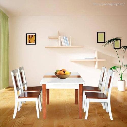 Bàn ghế phòng ăn 03