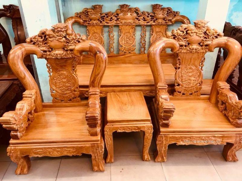 bàn ghế phòng khách 02