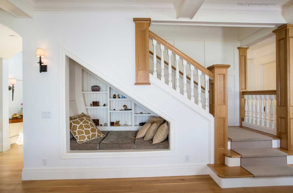 Cầu thang gỗ 03