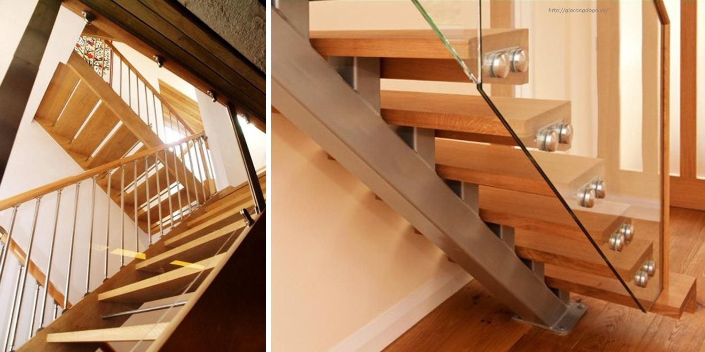 Cầu thang gỗ 04