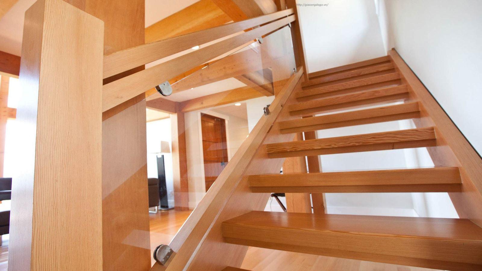 Cầu thang gỗ 05