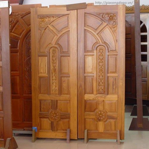cửa gỗ tại biên hòa