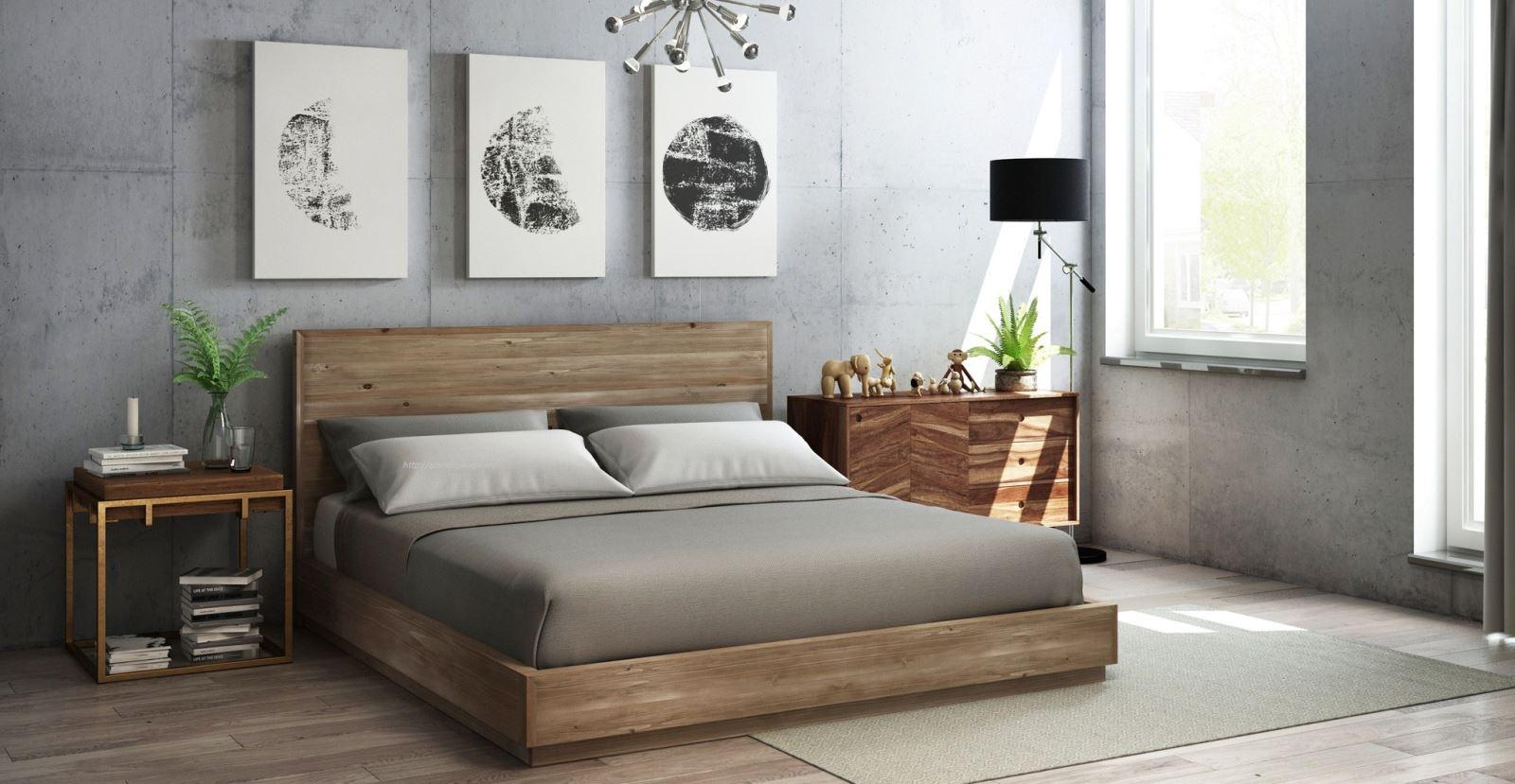 Mẫu giường ngủ 03