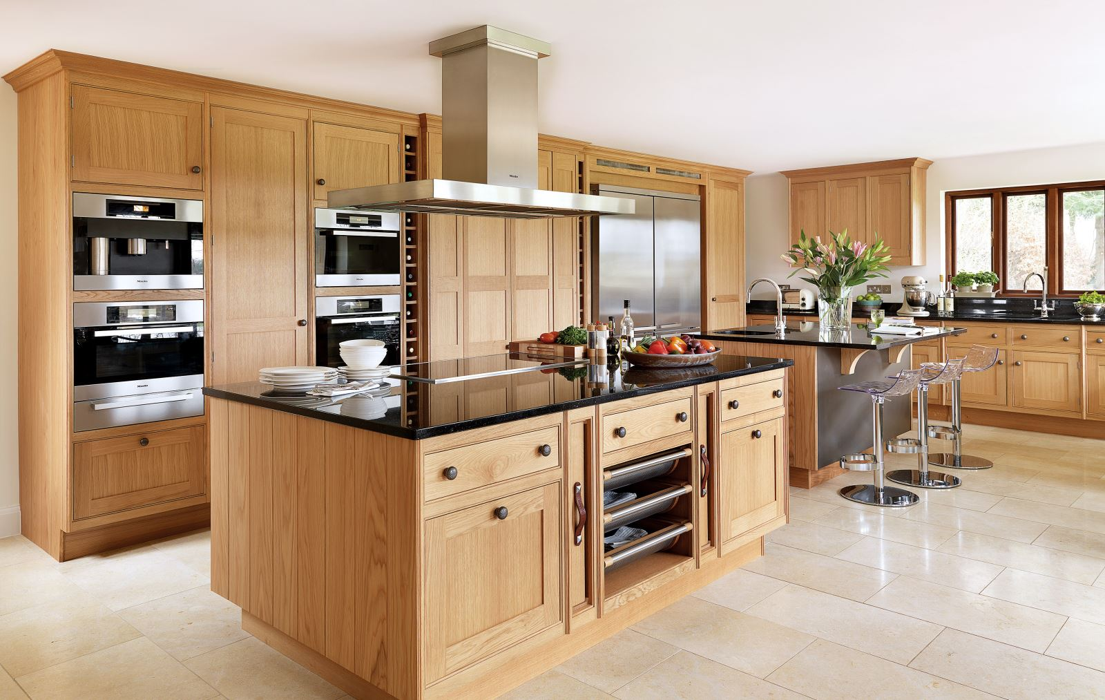 Tủ bếp gỗ 05