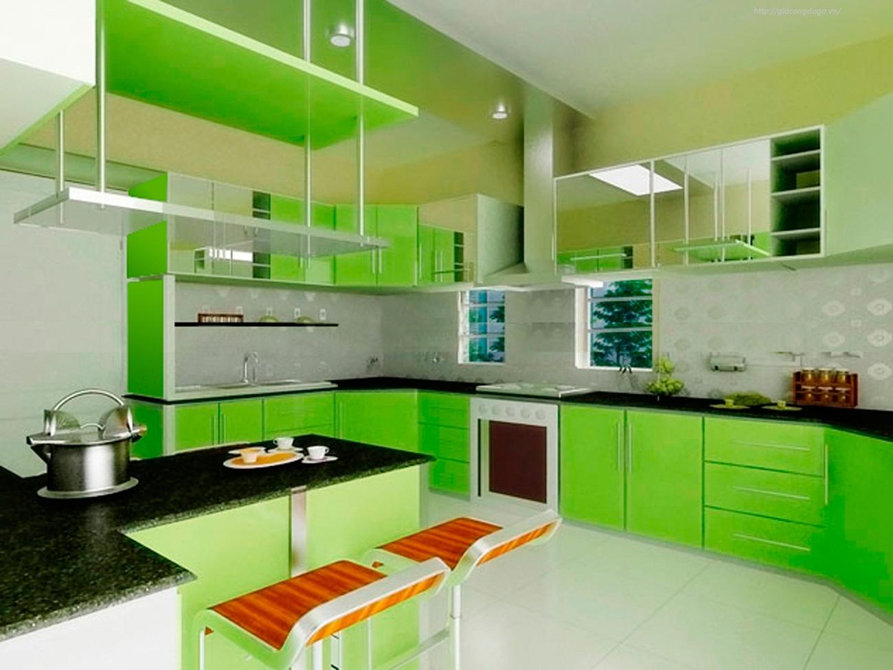 Tủ bếp hiện đại 03