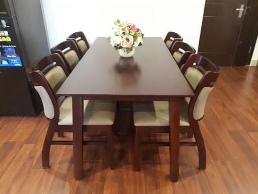 Bộ bàn ăn sala 6 ghế